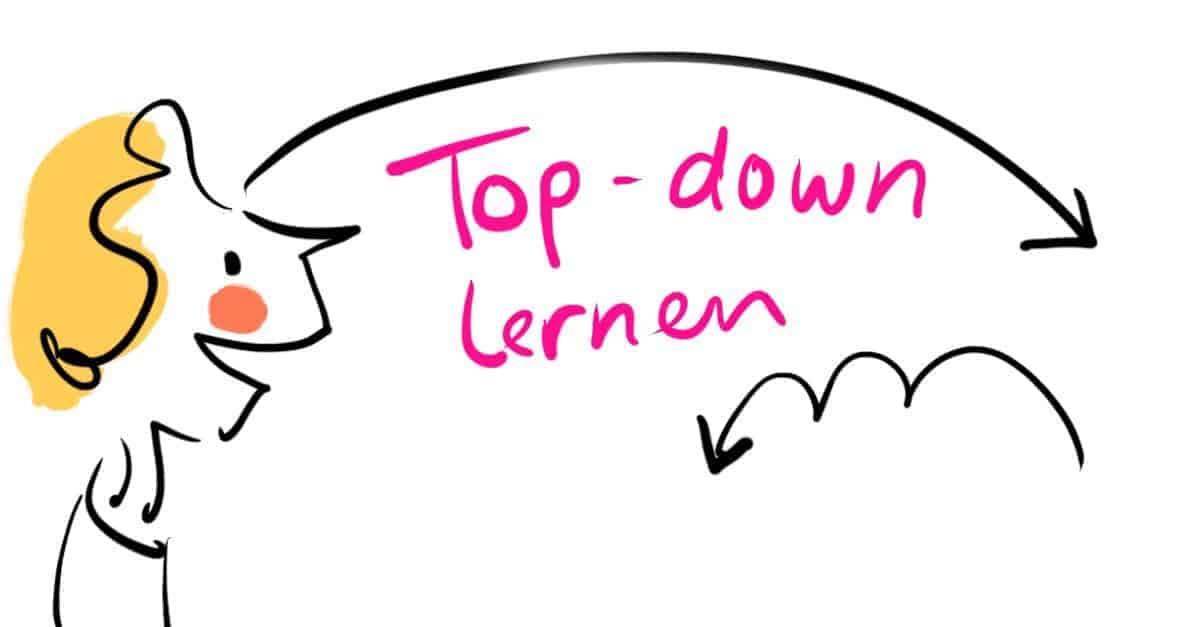Die anderen Merkmale von Hochbegabung 2: Top-down im Turbotempo