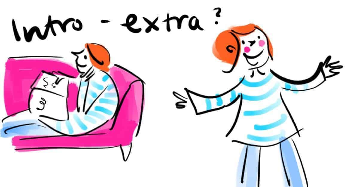 extravertiert und introvertiert zugleich