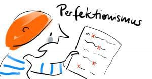 Perfektionismus ist nicht nur nie zufrieden sein