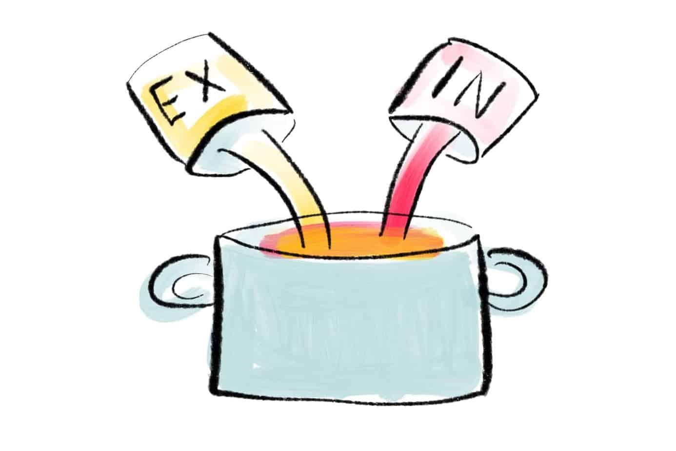 Spezialmix aus extravertiert und introvertierten Eigenschaften
