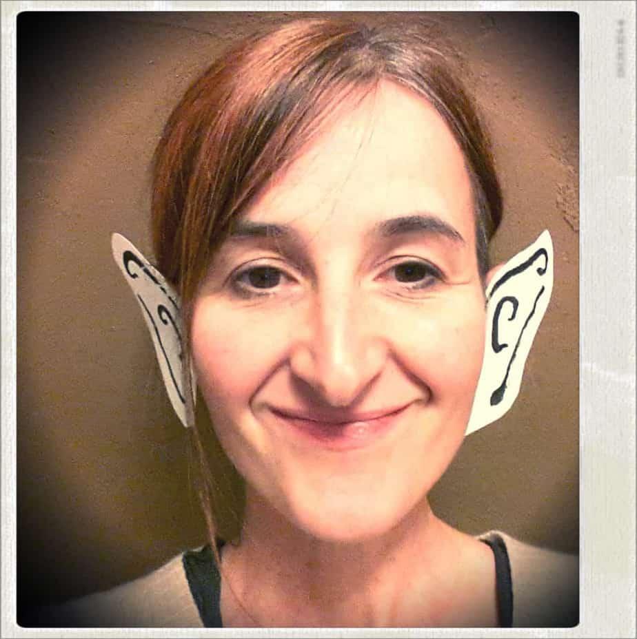 Nathalie, die Comiczeichnerin. Vielleicht auch ein Alien.