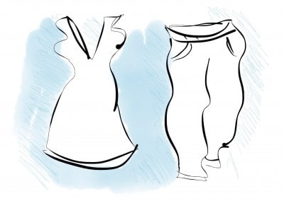 Illustration Kleidungsstücke