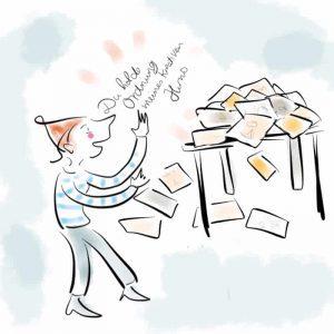 Autorin hält Ode an den chaotischen Schreibtisch