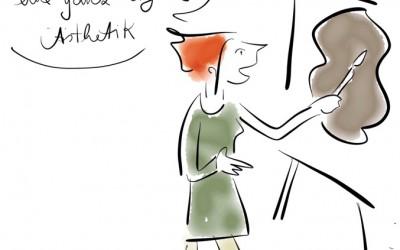 Ode 4: An den kreativen Kuhfladen – Wie Kinder malen