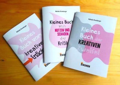 Drei Kleine Bücher über die kreative Arbeit von Nathalie Bromberger
