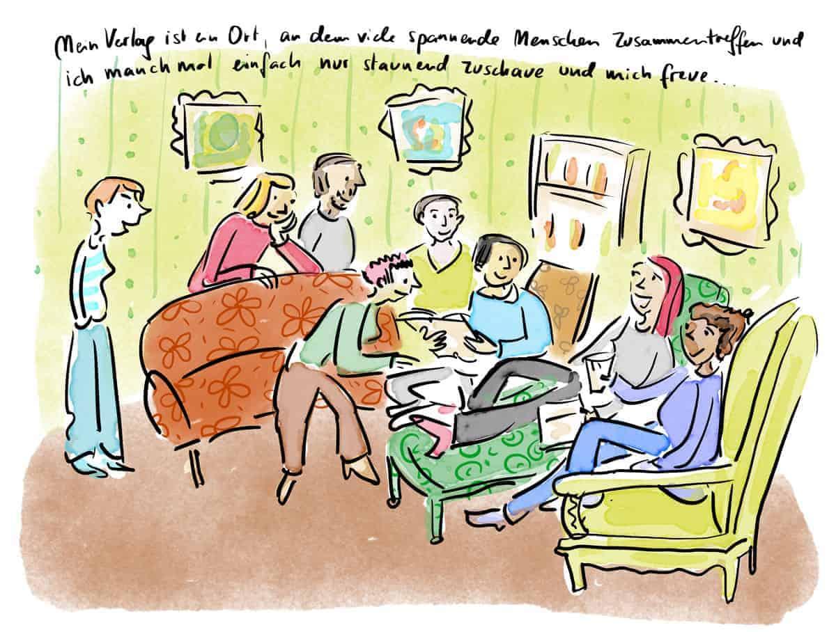 Verlagstraum Szene 3: Der Verlag als Salon