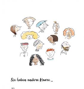 Das Andersbuch - Innenseiten Illustration