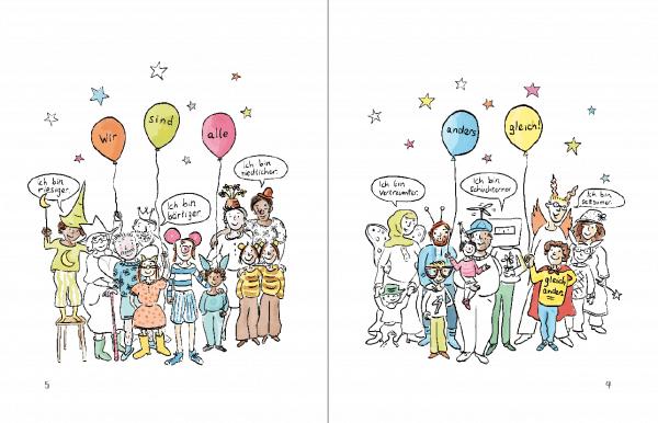 Wir sind alle anders gleich - Comic