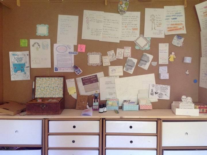Das Moodboard – kreative Einladung
