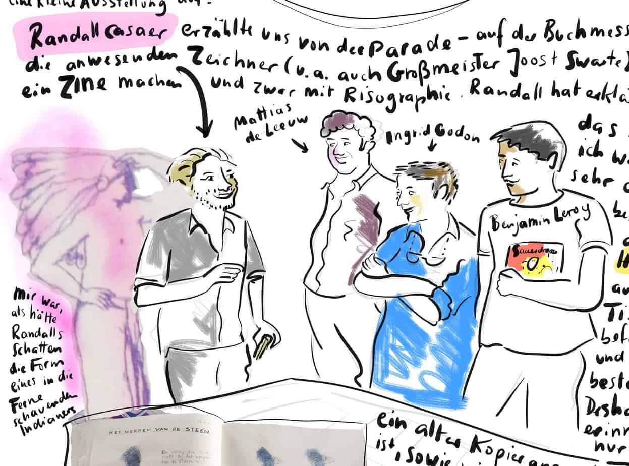 Vier fantastische Flamen in Gent – Comic Report 2