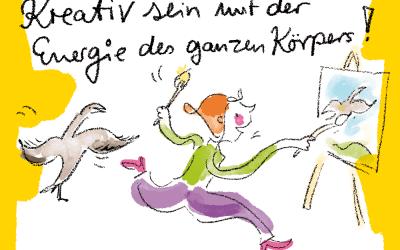 Workshop K2 – Kreativ sein mit der Energie des ganzen Körpes