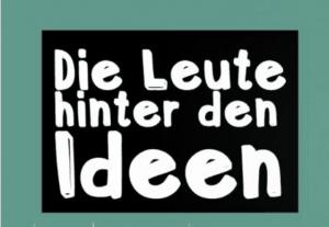 Logo Serie Leute hinter den Ideen