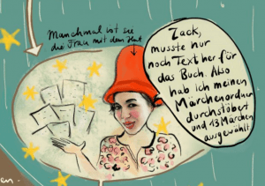 Ruth Frobeen ist auch die Frau mit dem Hut