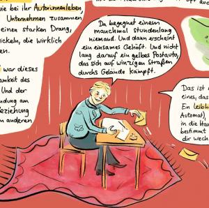 Nessa Altura und der Autorenexpress