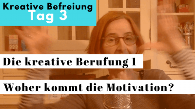 Die kreative Berufung 1 - Video von Nathalie Bromberger über das Entstehen der inneren Motivation