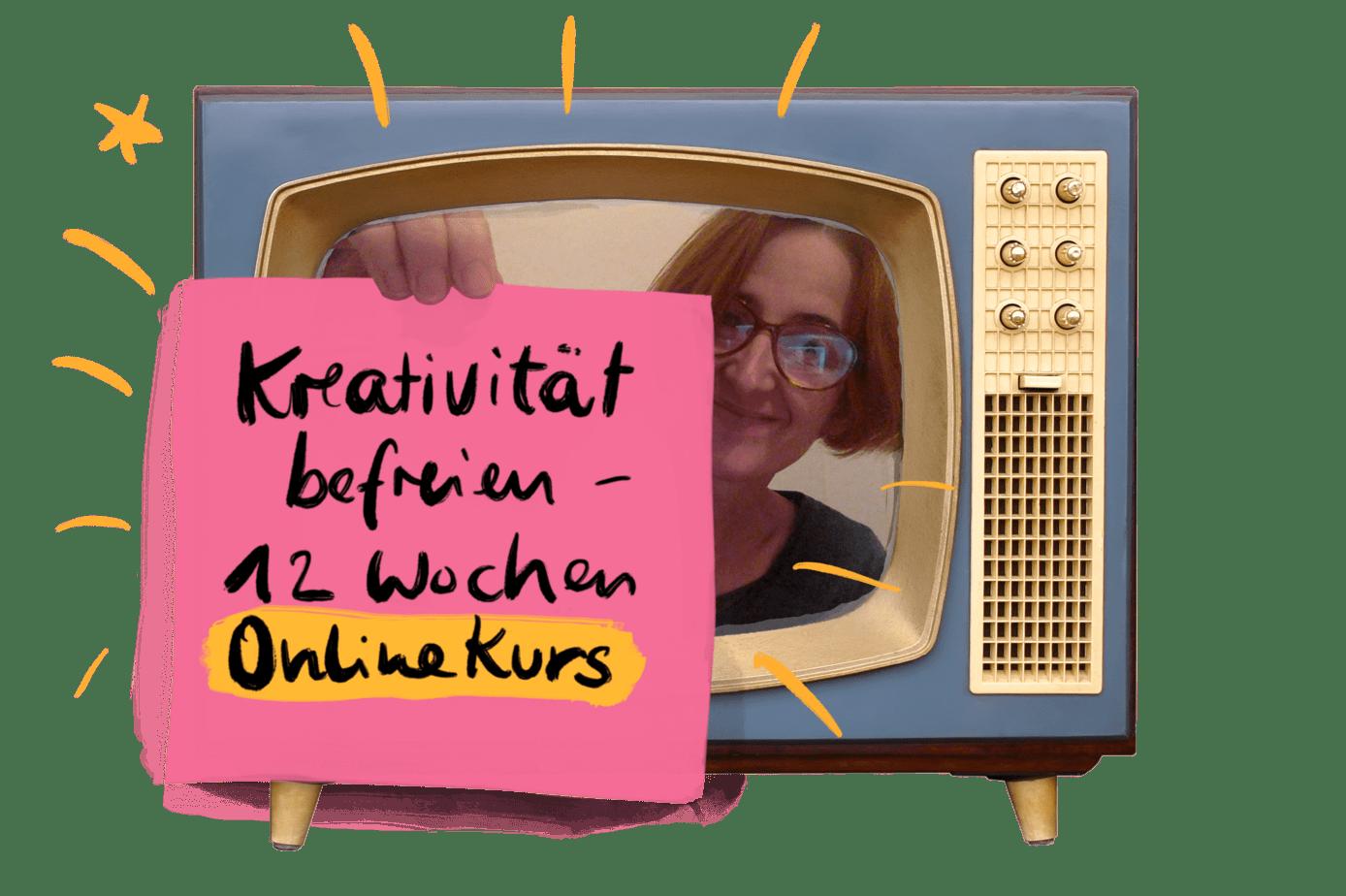 """Online-Kurs """"Die kreative Befreiung"""""""