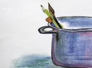 Kreativität – die geheime Zutat des Kochens. Von Anne Webert.