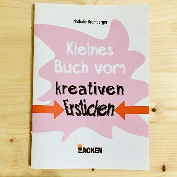 Cover vom kleinen Buch über das kreative Ersticken