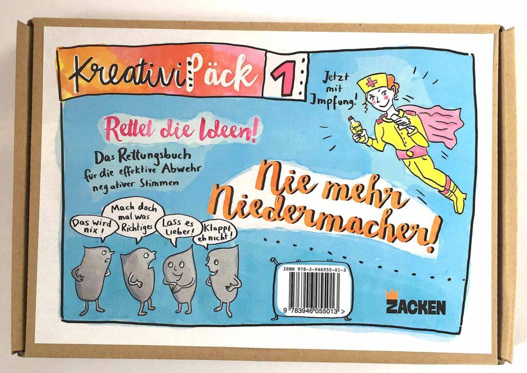 Cover Kartonverpackung Niedermacher Set