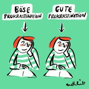 Gutes und böses Prokrastinieren sehen gleich aus.