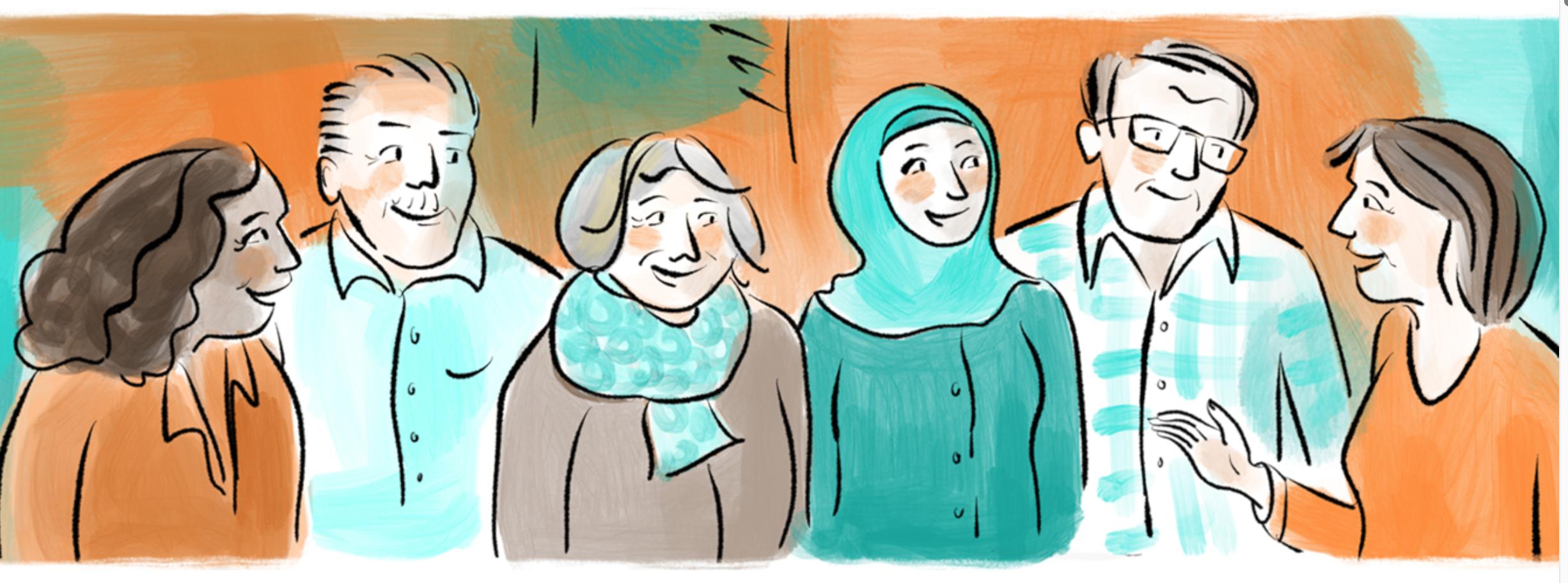 Diversität im Ehrenamt, Illustration