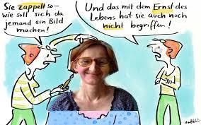 Cartoon Ernst des Lebens